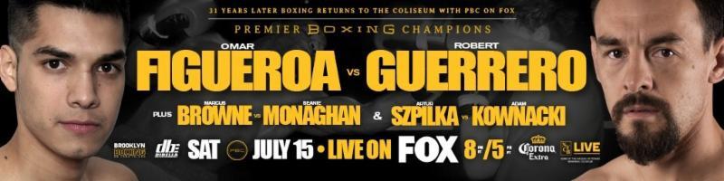 Unbeaten Omar Figueroa Drops Former Champion Robert Guerrero Five Times On His Way to Third-RoundTKO