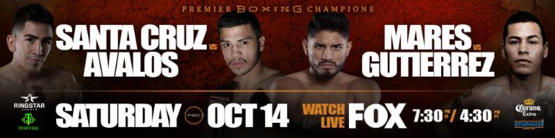 Santa Cruz v. Avalos & Mares v. Gutierrez Premier Boxing Champions on FOX & FOX Deportes Final Press Conference Quotes &Photos