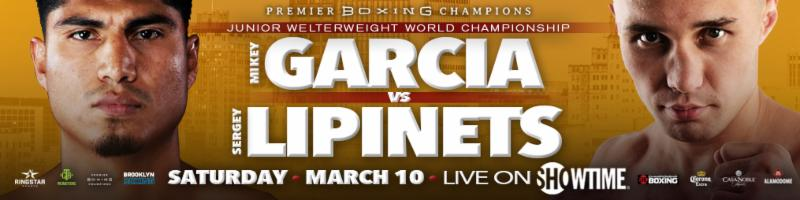 Mikey Garcia Becomes a Four-Division World Champion with Unanimous Decision Over SergeyLipinets
