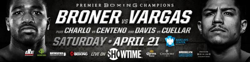 ADRIEN BRONER & JESSIE VARGAS FIGHT TO HIGHLY ENTERTAINING MAJORITY DRAW SATURDAY ON SHOWTIME® FROM BARCLAYS CENTER INBROOKLYN