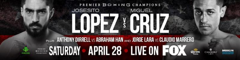 Josesito Lopez Defeats Miguel Cruz by Unanimous Decision in Premier Boxing Champions onFOX