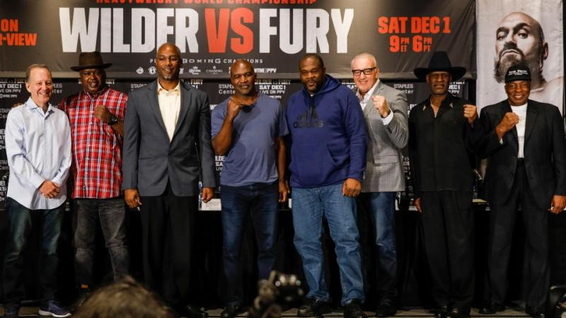 Esther Lin Showtime (Heavyweight Legends at Wilder Fury luncheon November 2018
