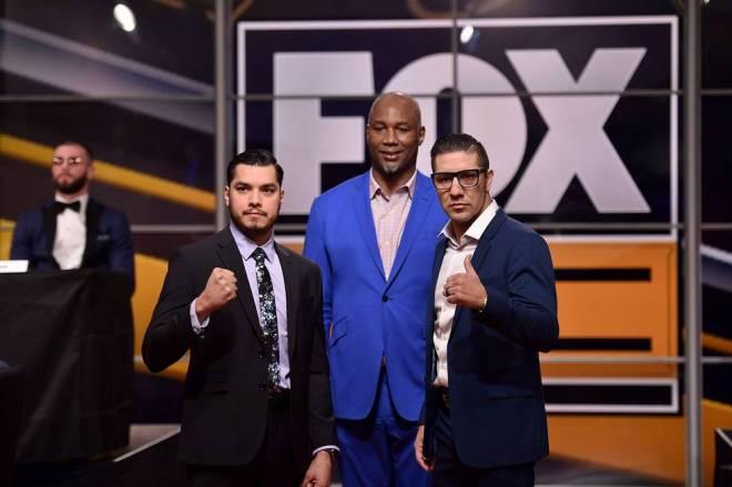 Figueroa Molina Jr. Fox Sports PBC press event 11 13 18 Credit Lionel Hahn Fox Picture Group