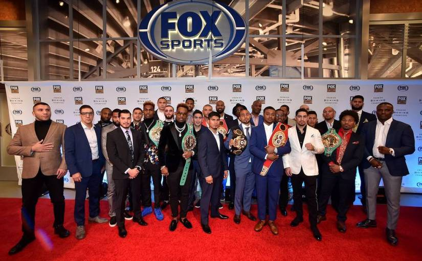 FOX SPORTS AND PREMIER BOXING CHAMPIONS ANNOUNCE 2019 SCHEDULE THROUGH APRIL