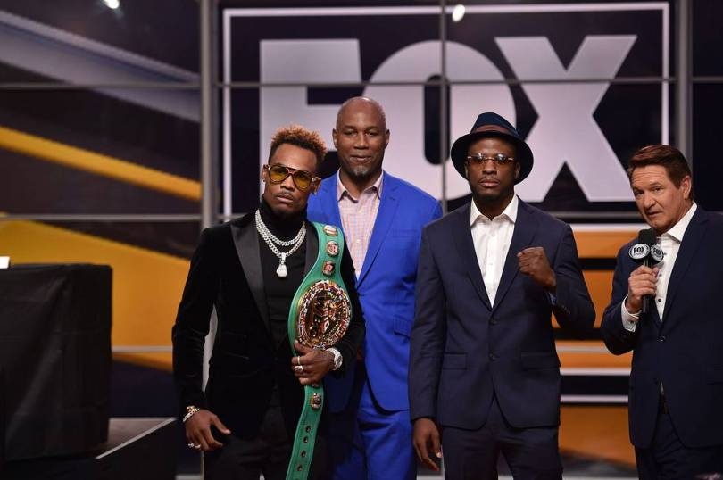 Jermell Charlo Harrison Fox Sports PBC press event 11 13 18 Credit Lionel Hahn Fox Picture Group