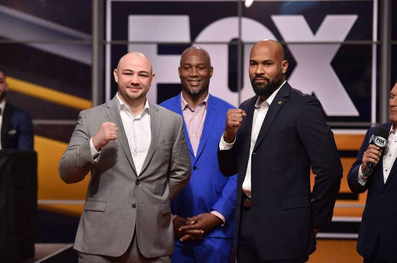 Kownacki Washington Fox Sports PBC press event 11 13 18 Credit Lionel Hahn Fox Picture Group