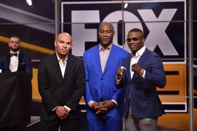 Truax Quillin Fox Sports PBC press event 11 13 18 Credit Lionel Hahn Fox Picture Group