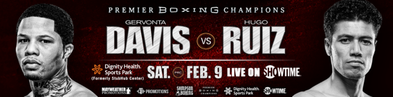 Official Weights & Photos For Tomorrow Night's SHOWTIME CHAMPIONSHIP BOXING Event – Gervonta Davis vs. Hugo Ruiz