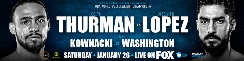 Welterweight World Champion Keith Thurman Drops & Decisions Rugged Contender JosesitoLopez