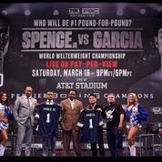 Garcia Spence LA Press Conference Feb 16 2019 Frank Micelotta FOX Sports 10