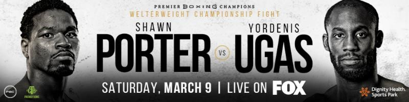 SHAWN PORTER vs. YORDENIS UGAS MEDIA WORKOUT  QUOTES & PHOTOS