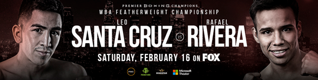 Featherweight World Champion Leo Santa Cruz Retains Title by Unanimous Decision Over Rafael Rivera