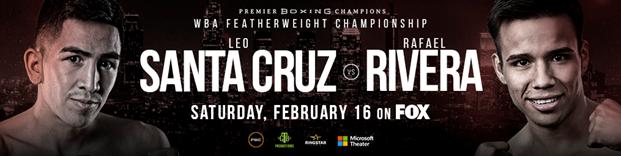 Featherweight World Champion Leo Santa Cruz Retains Title by Unanimous Decision Over RafaelRivera