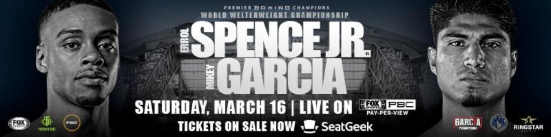 ERROL SPENCE JR. VS. MIKEY GARCIA FIGHTER GRAND ARRIVALS & MEDIA WORKOUT QUOTES &PHOTOS