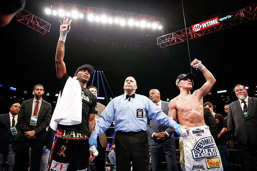 ERISLANDY LARA & BRIAN CASTAÑO FIGHT TO HIGHLY COMPETITIVE SPLIT-DRAW IN TITLE FIGHT SATURDAY ON SHOWTIME® FROM BARCLAYS CENTER INBROOKLYN