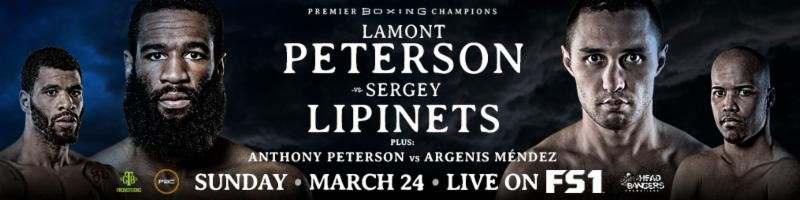 Super Welterweight Contender Jamontay Clark Battles Unbeaten Vernon Brown on Premier Boxing Champions on FS1 & FOX Deportes Sunday, March 24 from MGM National Harbor InMaryland