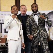 SHAWN PORTER VS. YORDENIS UGAS FINAL PRESS CONFERENCE QUOTES &PHOTOS
