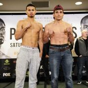 Porter Ugas Undercard weigh in Sean Michael HamTGB Promotions 1