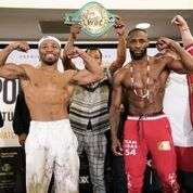 SHAWN PORTER VS. YORDENIS UGAS OFFICIAL WEIGHTS & WEIGH-IN PHOTOS