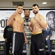 Porter Ugas Undercard weigh in Sean Michael HamTGB Promotions 6