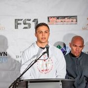 PETER QUILLIN VS. CALEB TRUAX FINAL PRESS CONFERENCE Andrew Dobin The Armory