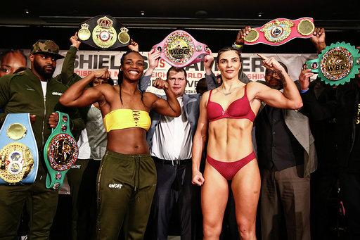CLARESSA SHIELDS vs. CHRISTINA HAMMER FINAL WEIGHTS, QUOTES,PHOTOS
