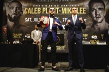 Caleb Plant Mike Lee Press Conf Quotes Photos may 21 19 Credit Stephaine Trapp8