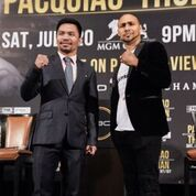 Pacquiao Thurman Plant Lee LA Press COnf Quotes Photos Sean Michael Ham Mayweather Promotions1