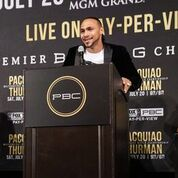 Pacquiao Thurman Plant Lee LA Press COnf Quotes Photos Sean Michael Ham Mayweather Promotions3