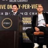 Pacquiao Thurman Plant Lee LA Press COnf Quotes Photos Sean Michael Ham Mayweather Promotions6