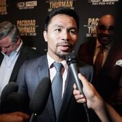 Pacquiao Thurman Plant Lee LA Press COnf Quotes Photos Sean Michael Ham Mayweather Promotions9