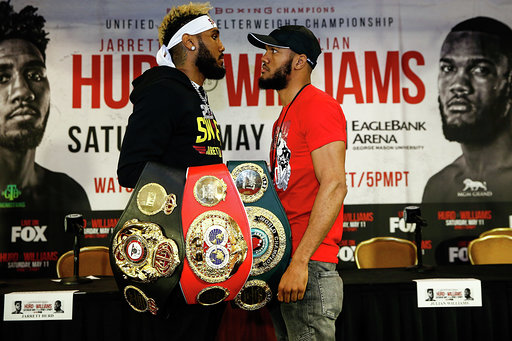 JARRETT HURD VS. JULIAN WILLIAMS FINAL PRESS CONFERENCE QUOTES & PHOTOS