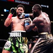 DEONTAY WILDER THRILLS BARCLAYS CENTER CROWD WITH SCINTILLATING FIRST ROUND KNOCKOUT OF DOMINICBREAZEALE
