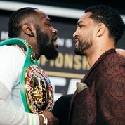 DEONTAY WILDER VS. DOMINIC BREAZEALE FINAL PRESS CONFERENCE QUOTES ANDPHOTOS