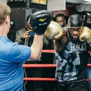DEONTAY WILDER MEDIA WORKOUT QUOTES & PHOTOS