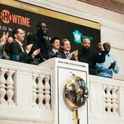 PHOTOS: HEAVYWEIGHT WORLD CHAMPION DEONTAY WILDER RINGS THE CLOSING BELL AT THE NEW YORK STOCKEXCHANGE