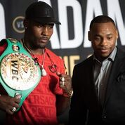 Charlo Adams Hou Press Conf Quotes Photos Andrew King SHOWTIME7