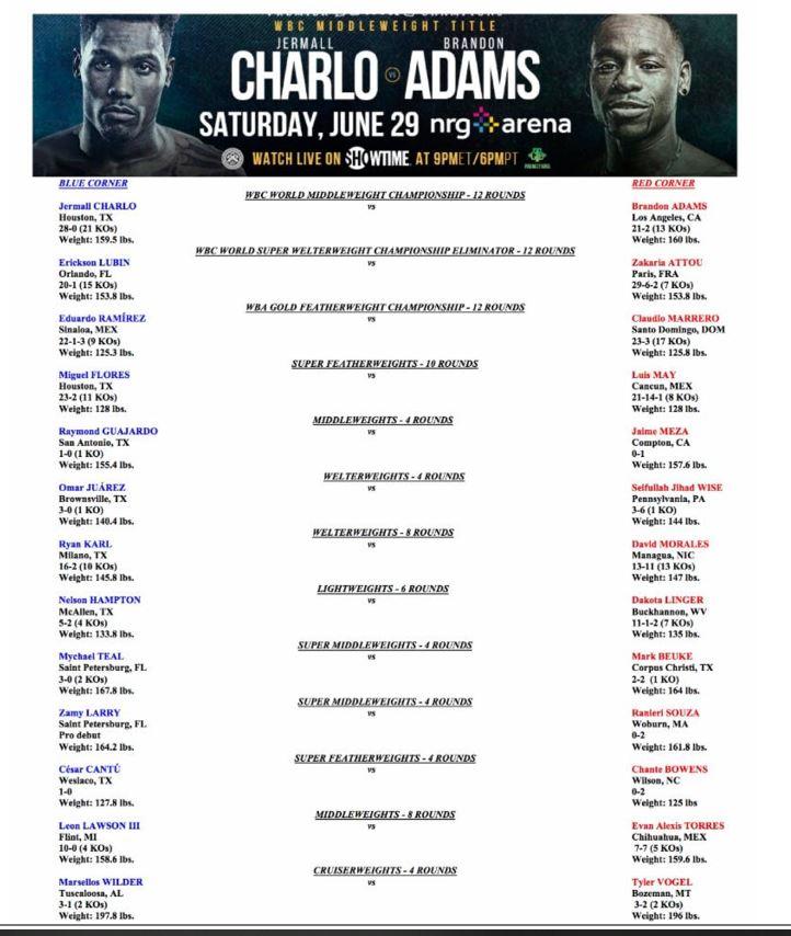 Charlo Adams