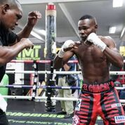 Charlo Cota Fight week Sean Michael Ham Mayweather Promotions Riguendaux