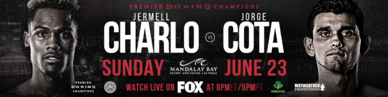 JERMELL CHARLO VS. JORGE COTA FIGHT WEEK MEDIA WORKOUT QUOTES & PHOTOS