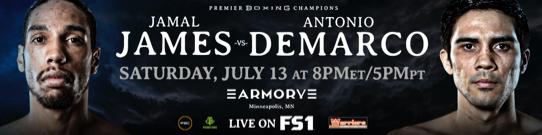JAMAL JAMES VS. ANTONIO DEMARCO FINAL PRESS CONFERENCE QUOTES &PHOTOS
