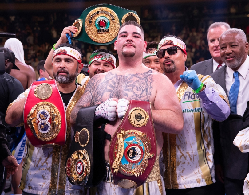 Boxing: Anthony Joshua vs Andy Ruiz