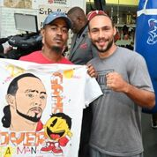 Thurman workout Pac fight Damon Gonzalez TGB Promotions