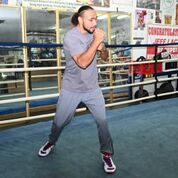 Thurman workout Pac fight Damon Gonzalez TGB Promotions1