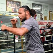 Thurman workout Pac fight Damon Gonzalez TGB Promotions2