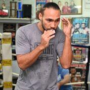 Thurman workout Pac fight Damon Gonzalez TGB Promotions3