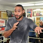 Thurman workout Pac fight Damon Gonzalez TGB Promotions7