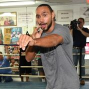 Thurman workout Pac fight Damon Gonzalez TGB Promotions8