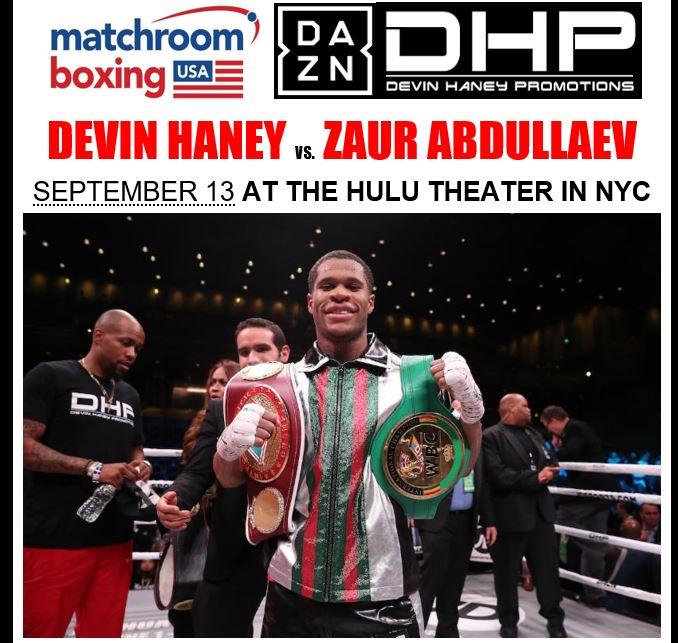 Devin Haney Clip 2 for Sep 13