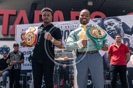 Spence Porter LA Presser Ryan Hafey Premier Boxing Champions